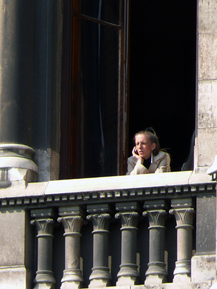 chica balcon