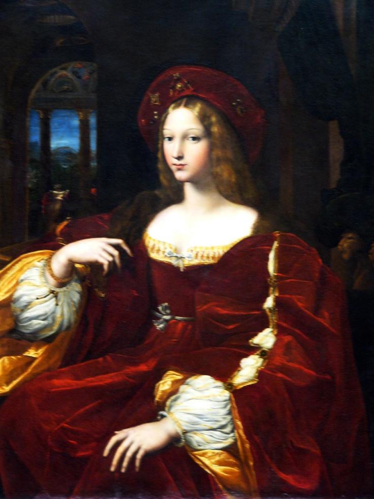 DonaROJO Isabel de Requesens, vice-reine de Naples, antes Jeanne d'Aragon-RAFAEL