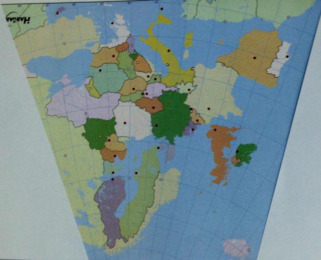 mapa europa R